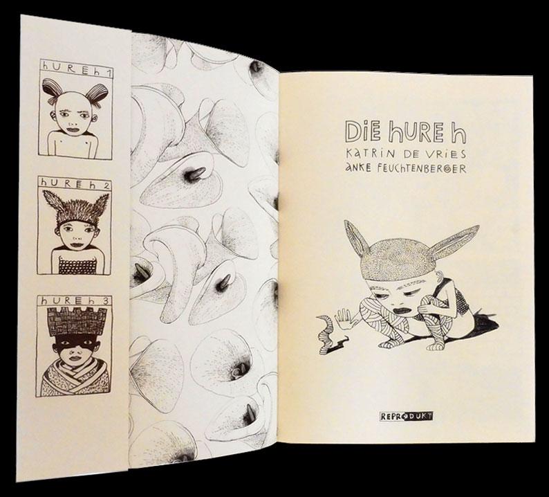 Die Hure H, The Whore W, Anke Feuchtenberger, Katrin de Vries