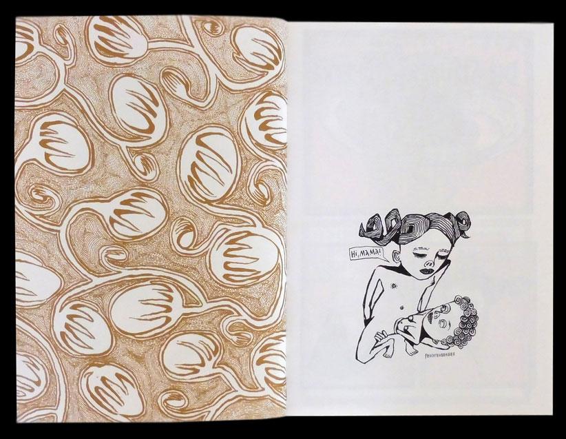 Anke Feuchtenberger, Comic, Mutterkuchen,