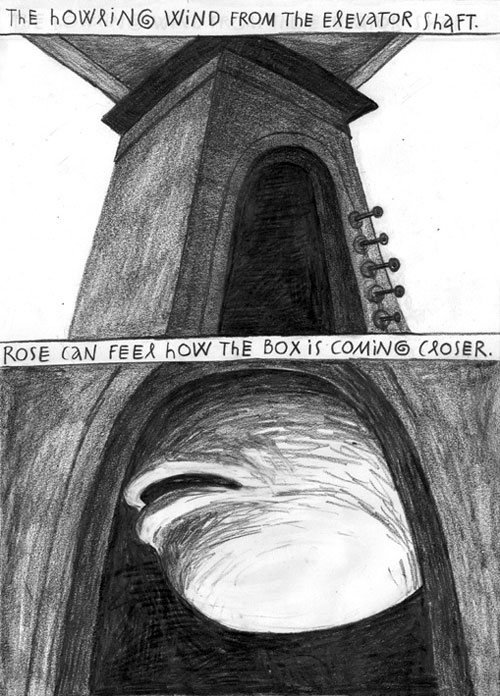 Anke Feuchtenberger,Comic,Old Rose