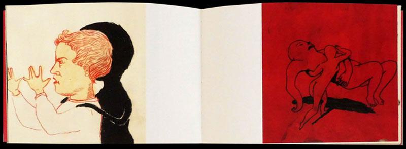 Anke Feuchtenberger, narrative Darwin, Wenn mein Hund stirbt, mach ich mir eine Jacke
