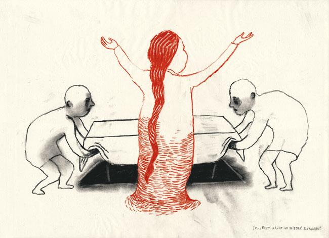 Anke Feuchtenberger, Zeichnung