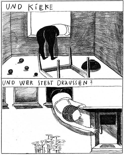 Anke Feuchtenberger, Berliner Zimmer,Comic