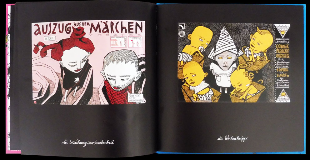 Anke Feuchtenberger, Poster, Die Biographie der Frau Trockenthal