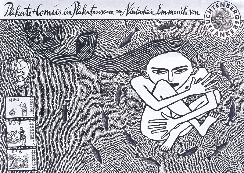 Anke Feuchtenberger:Plakate und Comics