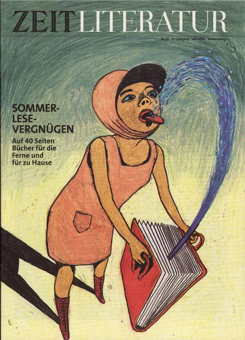 Anke Feuchtenberger, Die Zeit, Literatur